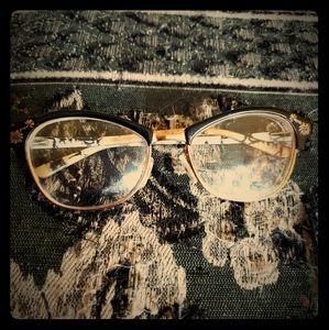 Bebe Flower Browline Glasses
